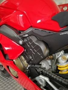 Carbon Cylinder Covers left and right side Panigale V4 / V4S / Speciale