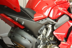 Subframe Covers left and right Panigale V4 R / Anniversario