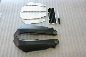 Carbon Frame Covers left and right Panigale V4 / V4S / Speciale