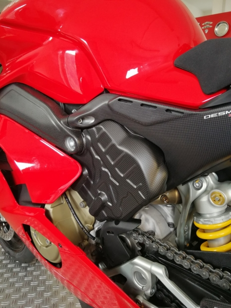 Carbon Cylinder Covers left and right side Panigale V4 R / Anniversario