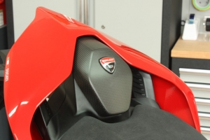 "Seat Pad ""Logo Version"" Ducati Streetfighter V4 / V4S"