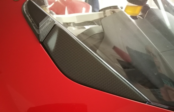 Front Subframe Covers Block Off Version Ducati Panigale V4 / V4S / Speciale / R